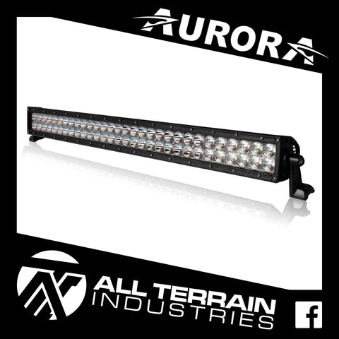 "AURORA 30"" DOUBLE ROW LED LIGHT BAR"