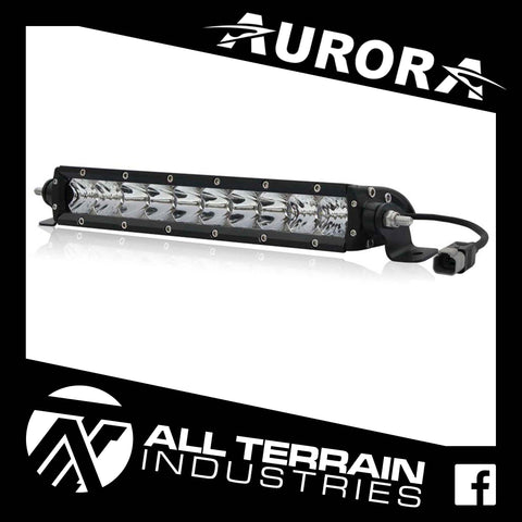 "AURORA 10"" SINGLE ROW LED LIGHT BAR"