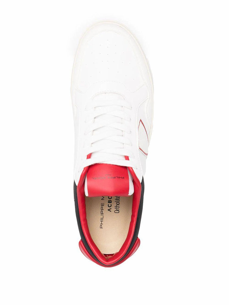 PHILIPPE MODEL Sneakers PHILIPPE MODEL MEN'S WHITE LEATHER SNEAKERS