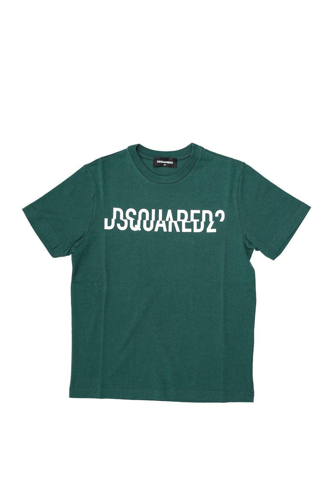 DSQUARED2 GREEN T-SHIRT