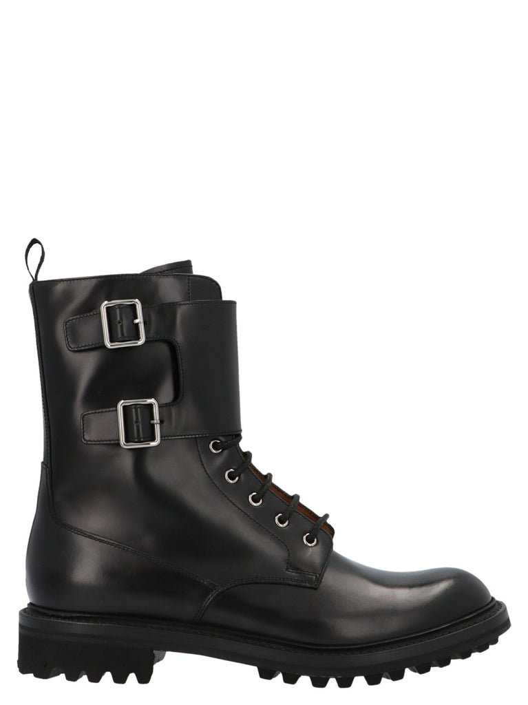 CHURCH'S BLACK ANKLE BOOTS