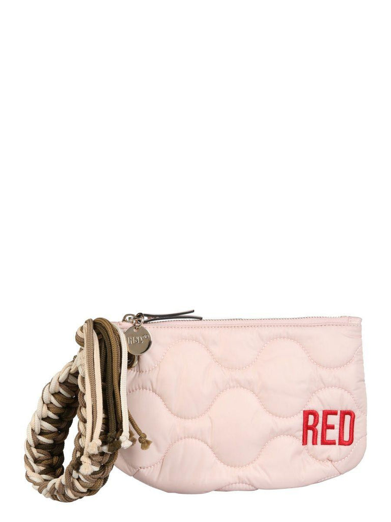 RED VALENTINO Pouches RED VALENTINO WOMEN'S PINK OTHER MATERIALS POUCH