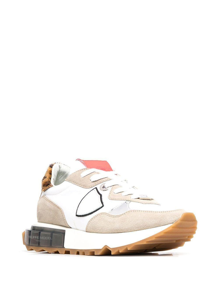 PHILIPPE MODEL Leathers PHILIPPE MODEL WOMEN'S WHITE LEATHER SNEAKERS