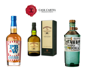 CaskCartel.com Pairs Your Next Small Meet Up with George Benham's Vodka