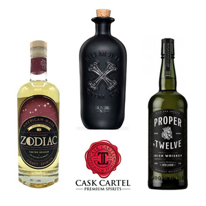 CaskCartel.com Celebrates Conor McGregor's Proper No. Twelve Irish Whiskey and Other Celebrity Favorite Bottles