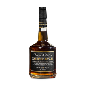 David Nicholson Reserve Bourbon — A More Than Suitable Alternative to Henry McKenna 10-Year Single Barrel