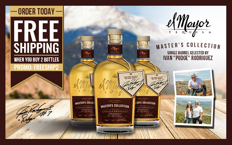 FREE SHIPPING Buy 2 El Mayor's Master's Collection by IVAN PUDGE RODRQIGUEZ Tequila at CaskCartel.com