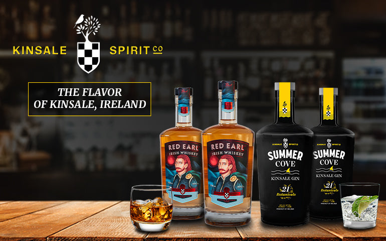 Buy Kinsale Spirits Online. Red Earl Irish Whiskey and Summer Cove Gin at CaskCartel.com