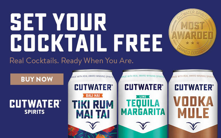 Buy Cutwater Spirits, Cocktails Cans, Whiskey, Tequila, Vodka and Gin Online at CaskCartel.com