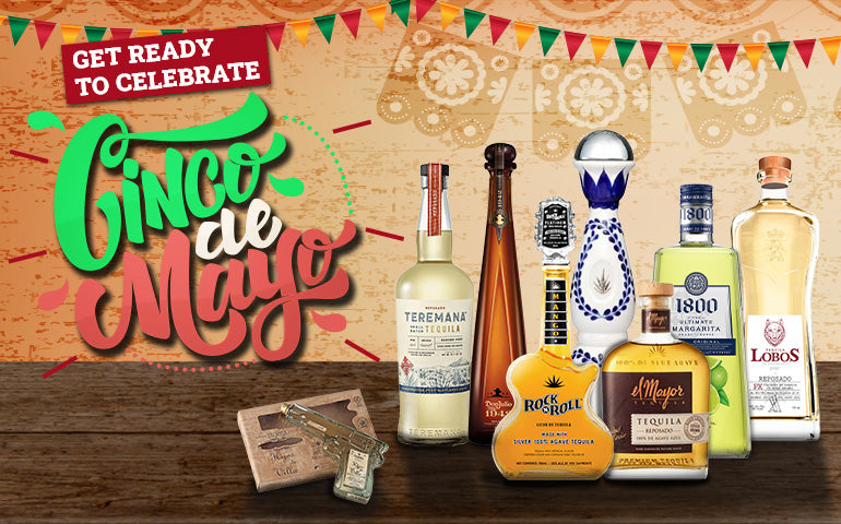 Buy Tequila and Margarita Mix for Cinco De Mayo Online at CaskCartel.com
