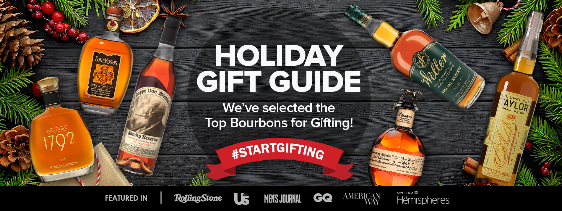 Buy Premium Highly Allocated Bourbon Christmas Gifts from the Bourbon Bunker at CaskCartel.com