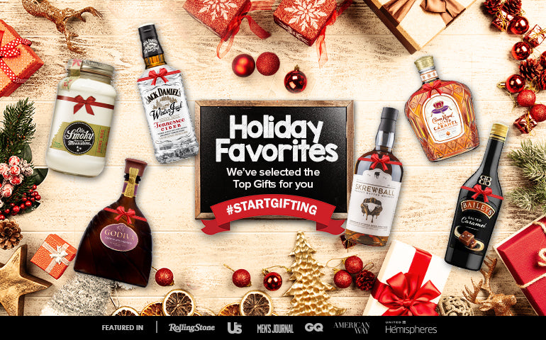 Buy Favorite Premium Spirits and Whiskey, Bourbon, Scotch, Vodka, Tequila, Gin, and Rum Christmas Gifts at CaskCartel.com