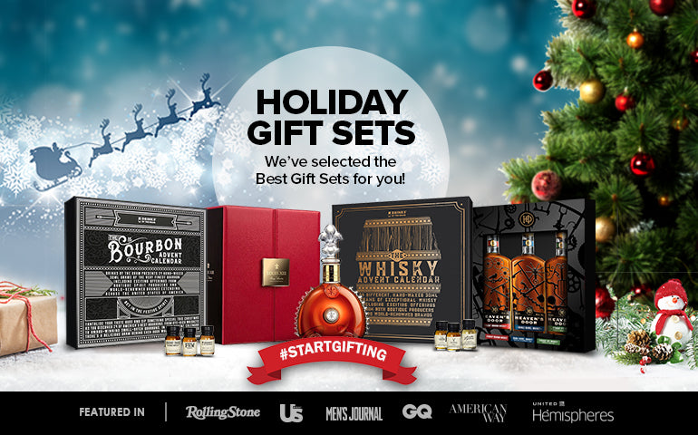 Buy Premium Spirits and Whiskey, Bourbon, Scotch, Vodka, Tequila, Gin, and Rum Christmas Gift Box Sets at CaskCartel.com