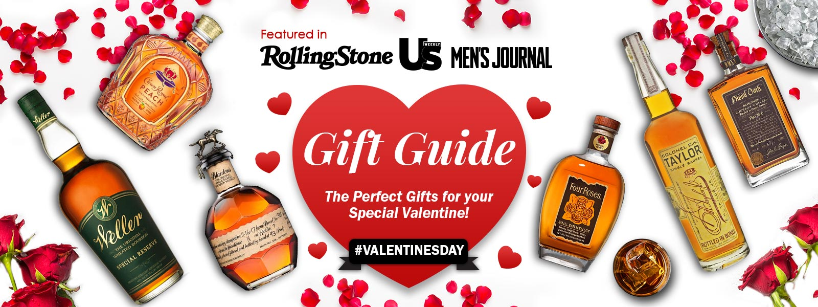 Buy Premium Valentine's Day Spirits and Whiskey, Bourbon, Scotch, Vodka, Tequila, Gin, and Rum Gifts at CaskCartel.com