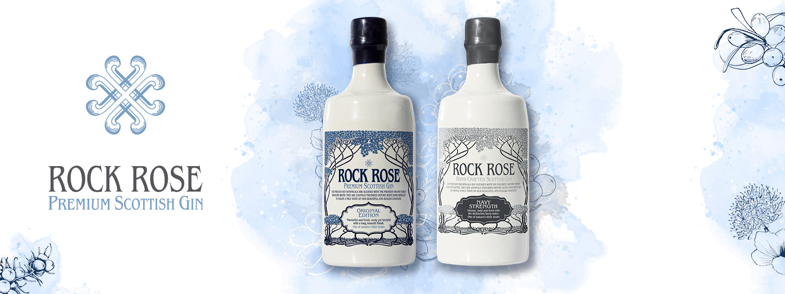 Buy Rock Rose Premium Scottish Gin, Whiskey, Tequila, Vodka and Gin Online at CaskCartel.com
