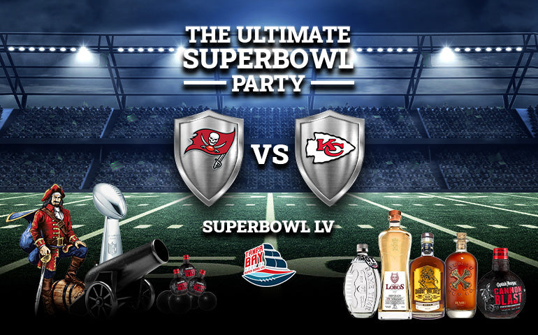 Buy Super Bowl Party Drinks Whiskey, Vodka, Rum, Tequila and Gin Online at CaskCartel.com