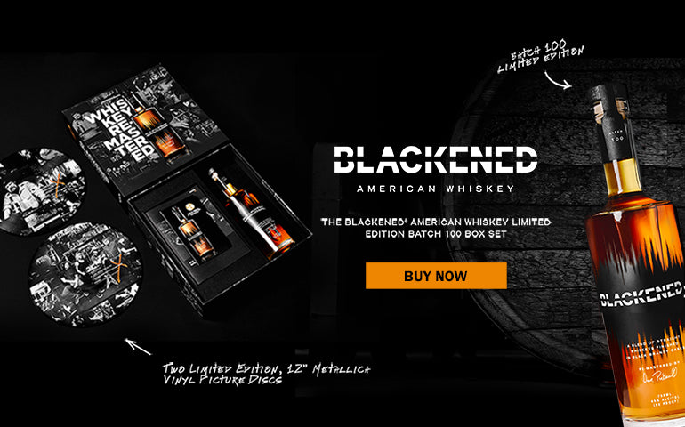 Buy Blackened Whiskey Limit Edition Box Set 100 Online at CaskCartel.com