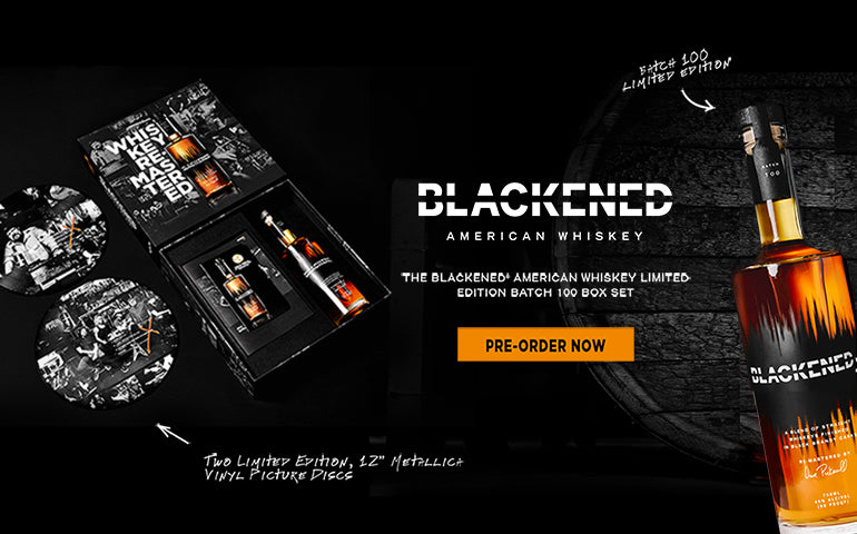 Buy Blackened Whiskey Limited Edition Box Set 100 Online at CaskCartel.com