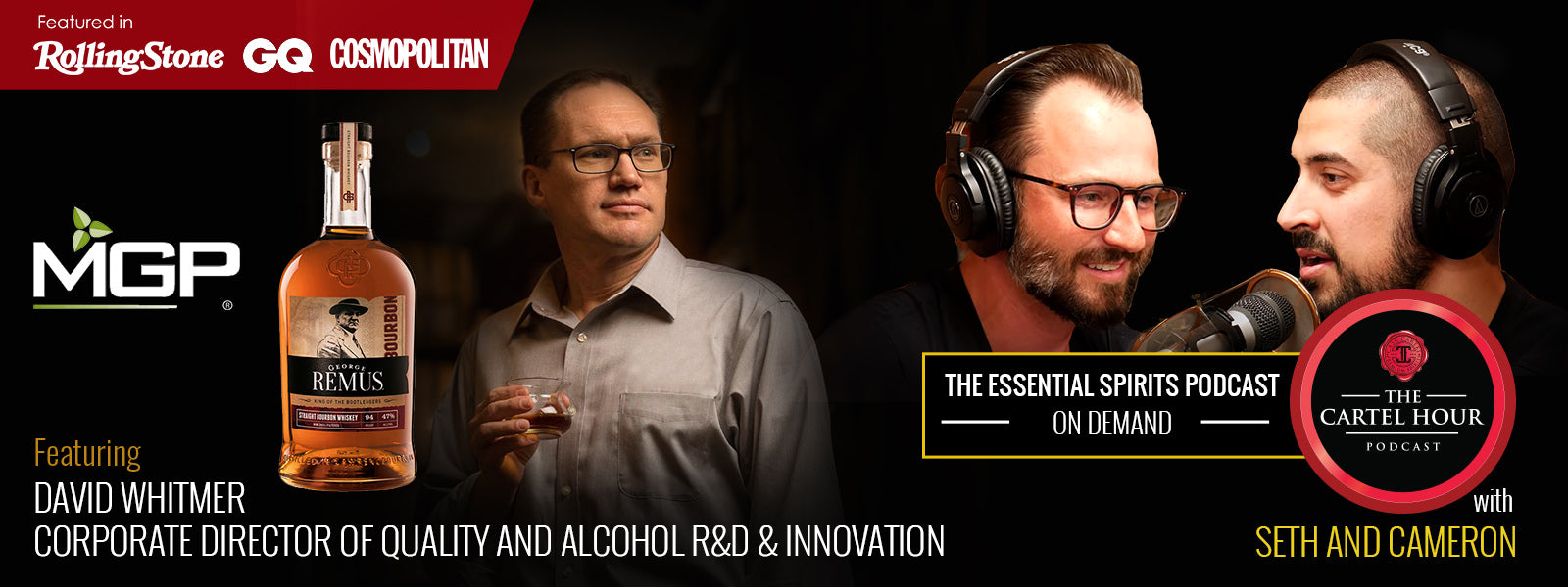 Cartel Hour Podcast Reviews, Whiskey, Bourbon, Tequila, Rum, Gin and Vodka Online at CaskCartel.com