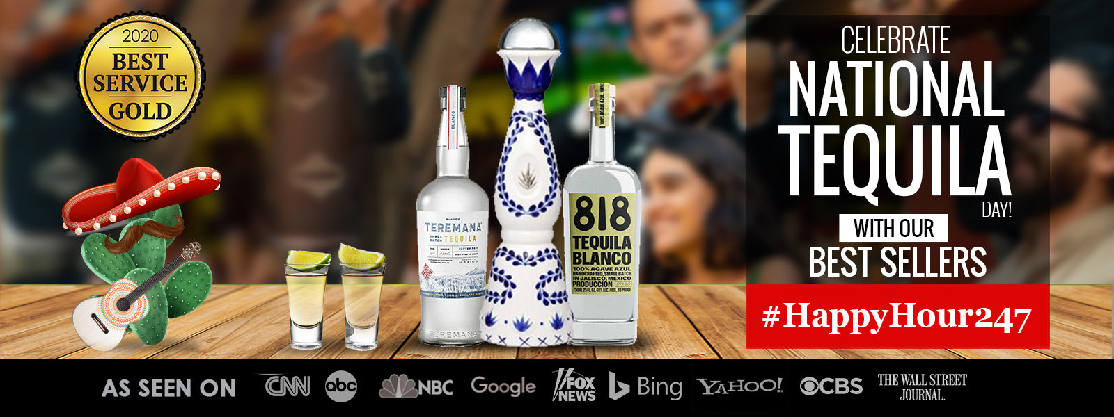 Buy Tequila Online for National Tequila Day at CaskCartel.com