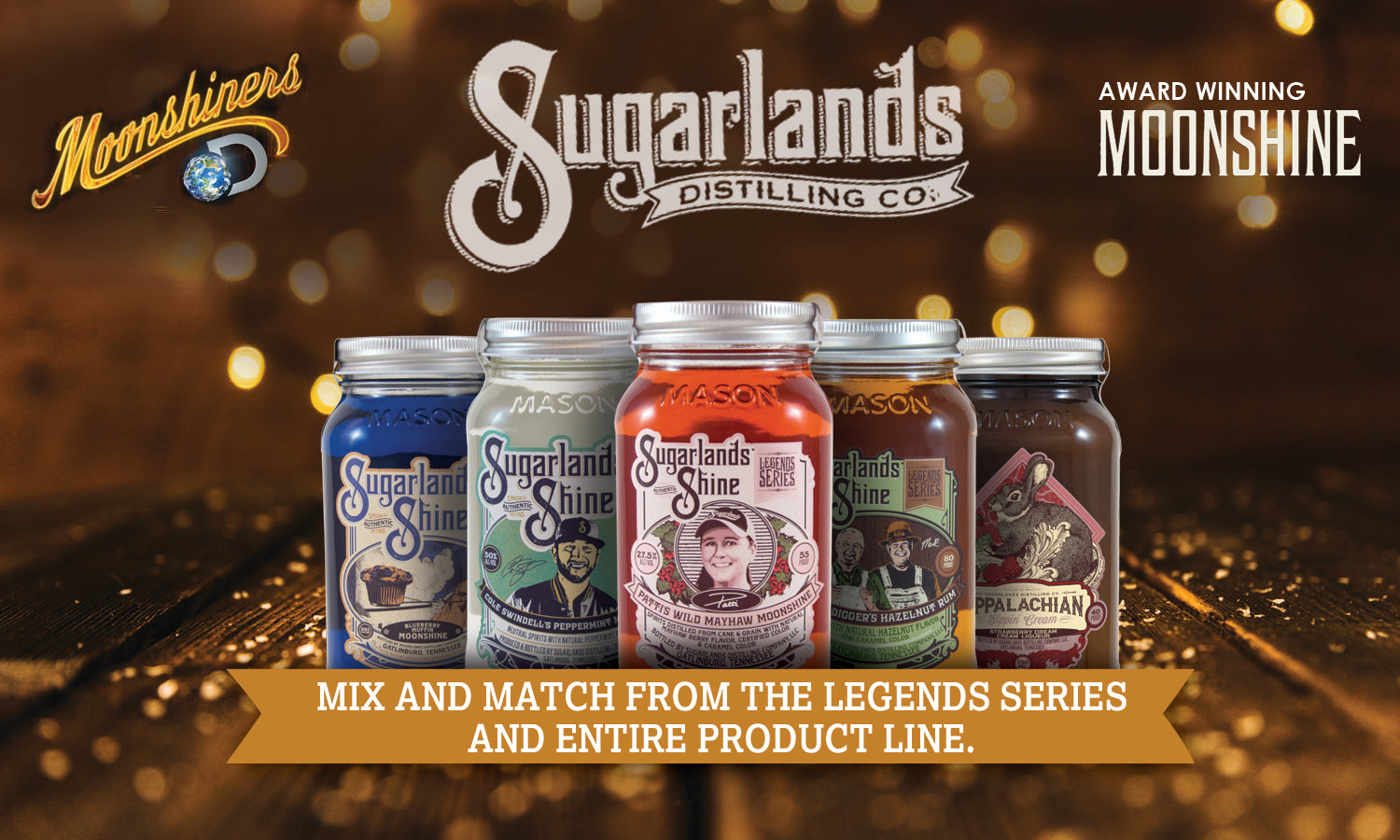 Sugarlands Moonshine Collection