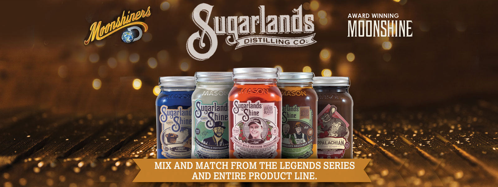 Buy Sugarlands Moonshine Whiskey Online at CaskCartel.com