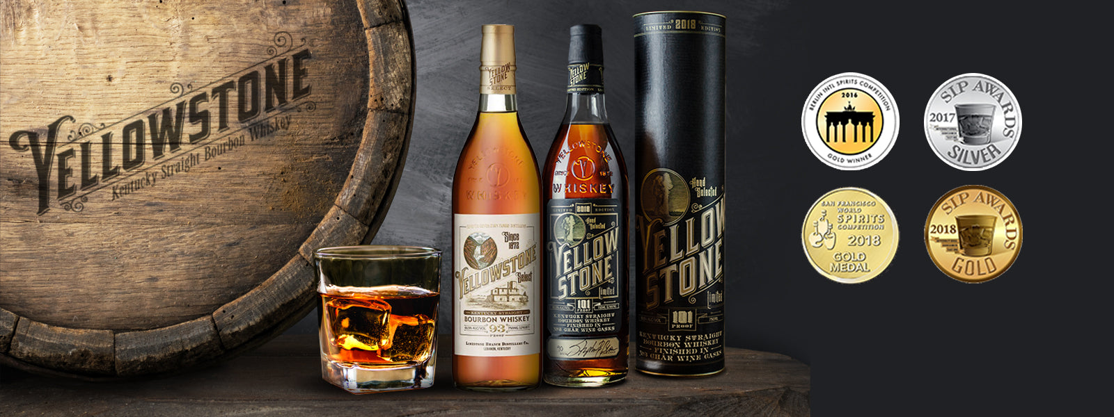 Buy Yellowstone Whiskey Online at CaskCartel.com
