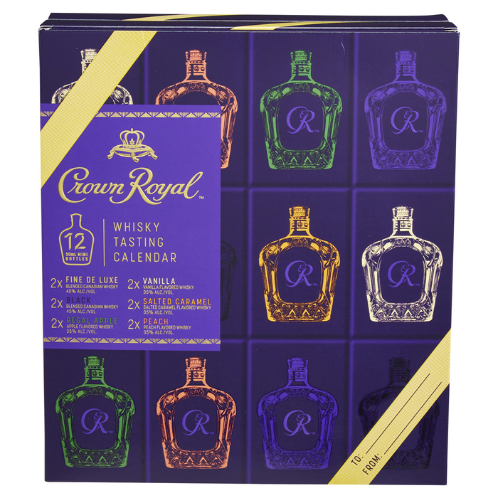 Crown Royal Whisky Tasting Calendar Gift Set | 2020 Edition