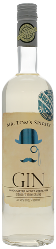 Mr. Tom's Spirits Sugar Free Gin CaskCartel.com