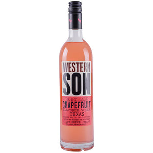 Western Son Ruby Red Grapefruit Vodka - CaskCartel.com