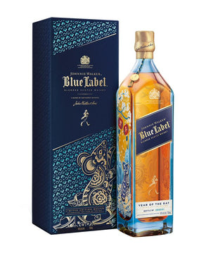 Johnnie Walker Blue Label Year Of The Rat Limited Edition Blended Scotch Whisky - CaskCartel.com