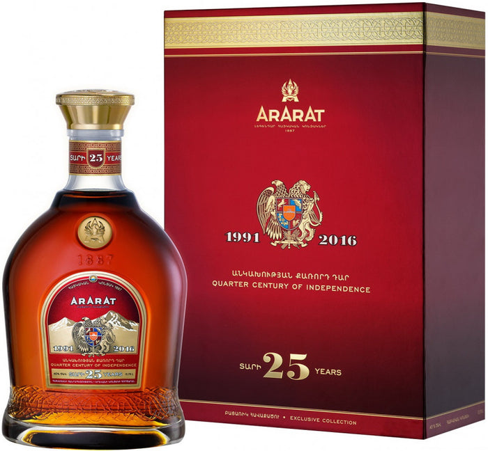 Ararat 'Quarter Century Of Independence' 25 Year Old Armenian Brandy