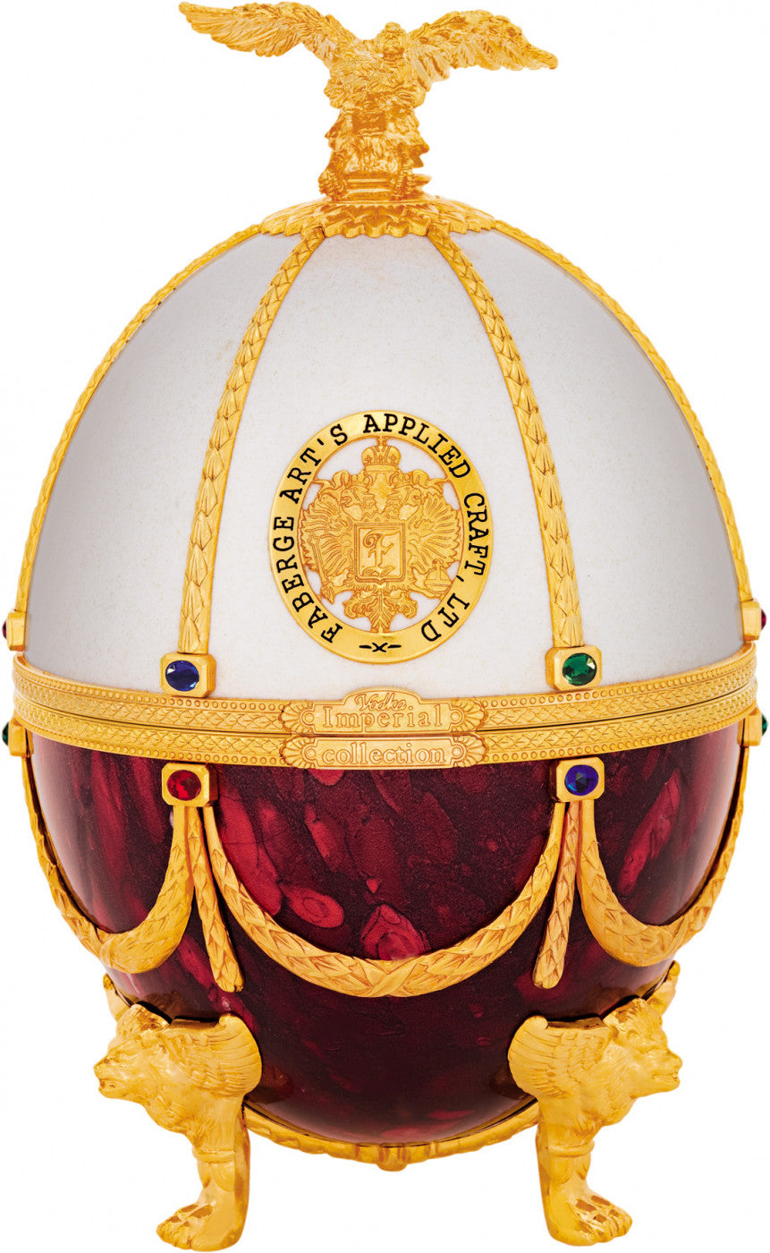Buy Imperial Collection In Faberge Egg Red And White Super Premium Vodka At Caskcartel Com