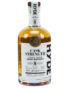 Hyde 8 Year Old Cask Strength Single Grain Irish Whiskey at CaskCartel.com