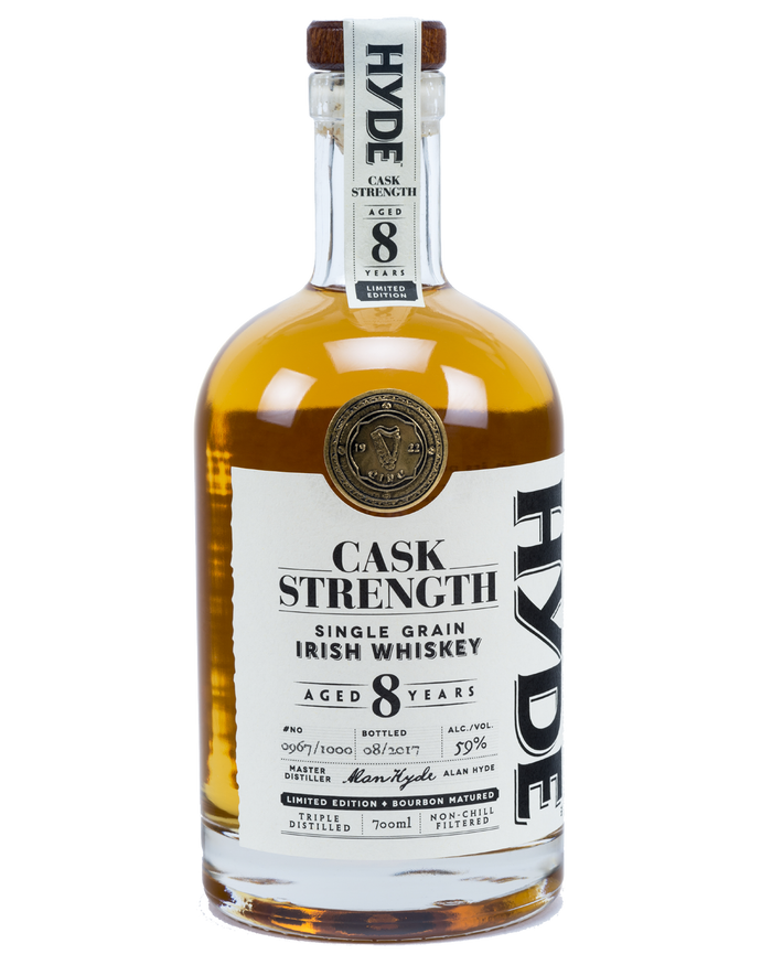 Hyde 8 Year Old Cask Strength Single Grain Irish Whiskey
