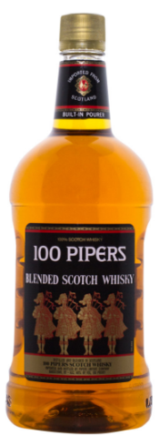 Seagram's 100 Pipers Deluxe Blended Scotch Whisky | 1.75L at CaskCartel.com