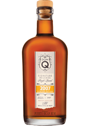 Don Q 2007 Limited Edition Single Barrel Rum - CaskCartel.com