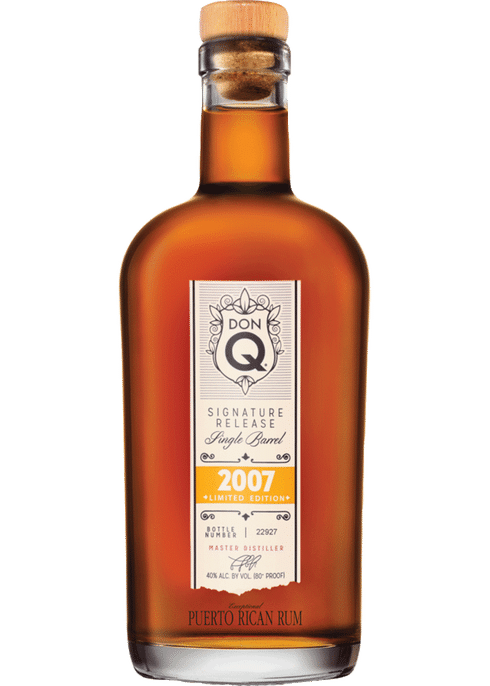 Don Q 2007 Limited Edition Single Barrel Rum