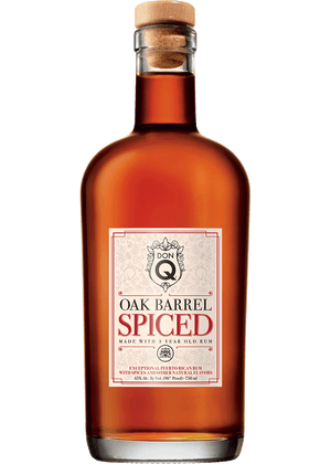 Don Q Oak Barrel Aged Spiced Rum - CaskCartel.com