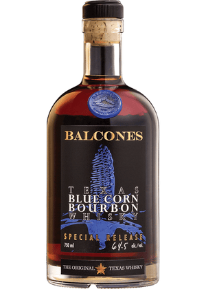 Balcones Texas Blue Corn Bourbon Whiskey - CaskCartel.com