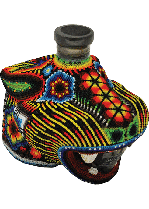 Chaquira Beaded Jaguar Extra Anejo Tequila