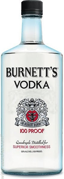 Burnett's 100 Proof Vodka (Plastic)