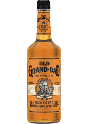 Old Grand Dad Straight Bourbon Whiskey - CaskCartel.com