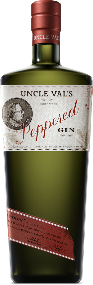 Uncle Val's Peppered Gin CaskCartel.com  Now Available Doorstep Shipping  - CaskCartel.com