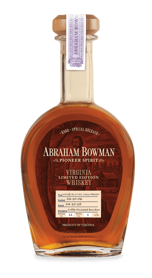 A. Smith Bowman Distillery 'Abraham Bowman' Coffee Finished Bourbon Whiskey - CaskCartel.com