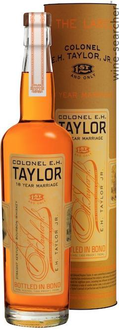 COLONEL E.H. TAYLOR 18 YEAR MARRIAGE BOTTLED IN BOND STRAIGHT KENTUCKY BOURBON WHISKEY
