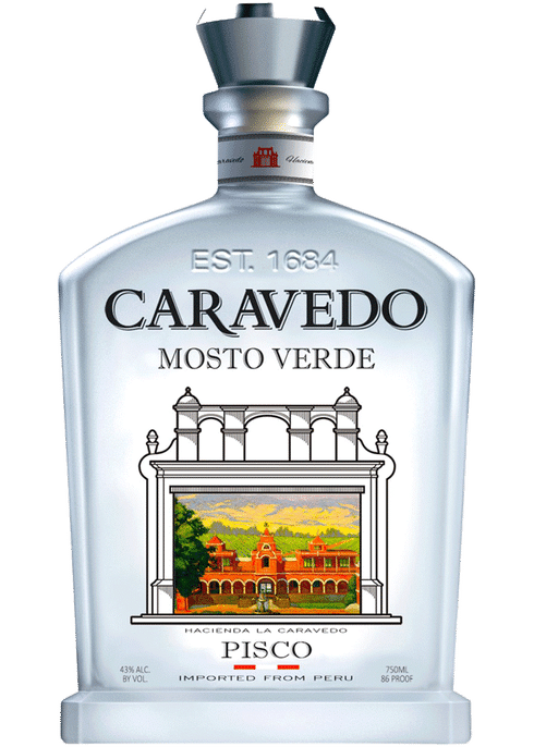 Pisco Caravedo (Formerly Pisco Porton)