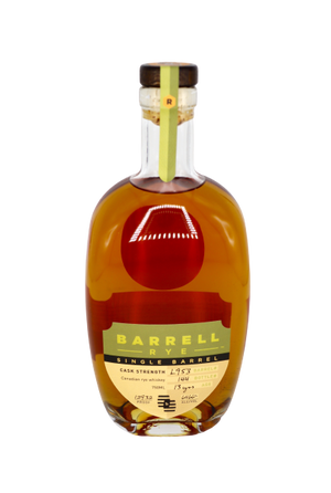 Barrell 13 Year Old Single Barrel Cask Strength 129.32 proof Rye Whiskey at CaskCartel.com