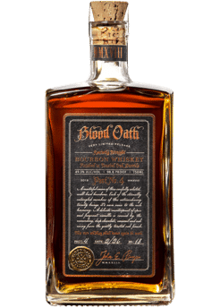 Blood Oath Kentucky Straight Bourbon Whiskey Pact No. 4