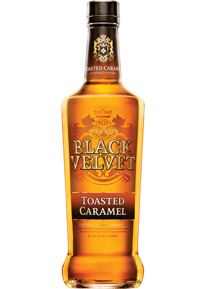 Black Velvet Toasted Caramel Canadian Whisky